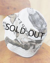 """funny dot CRAZY"" vintage fabric Bucket Hat 〜 Zoo 〜"