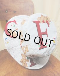 """funny dot CRAZY"" vintage fabric Bucket Hat 〜Bare F〜"