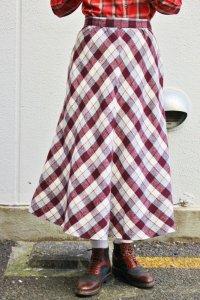 Vintage Skirt 〜タータンチェック×フレアシルエット〜