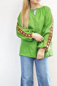 '60s Vintage Tunic 〜チロリアンテープ×オールハンド〜