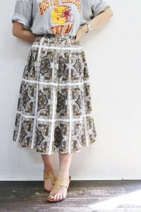 '50s Vintage Skirt 〜ペイズリーパターン〜