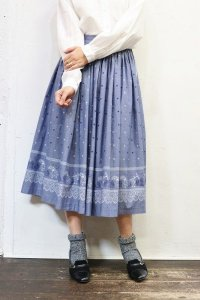 Vintage Skirt 〜MADE IN W.Germany×チロル×ハート&フラワー〜