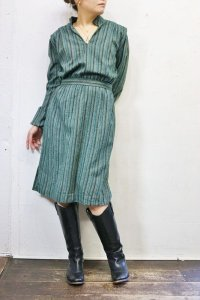 !!!30%OFF!!! Vintage Dress 〜MADE IN  FRANCE×ストライプ〜