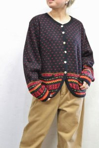 Vintage Knit 〜MADE IN MEXICO×ノルディック×カーディガン〜