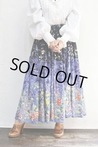Vintage Skirt〜MADE IN INDIA×コットン×フラワー〜