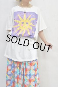 Vintage T-Shirt 〜MADE IN USA×コットン×太陽〜