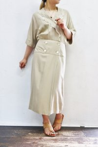 '70s Vintage Dress 〜MADE IN USA×カシュクール×レース〜