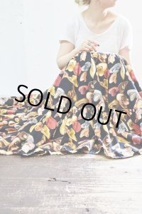 Vintage Skirt〜MADE IN USA×コットン×テンガロンハット×ティアード×サーキュラー〜