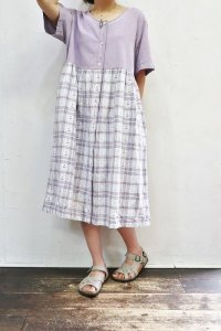 Vintage Dress 〜MADE IN INDIA×コットン×ヨット〜