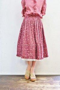 Vintage Skirt 〜チロル×フラワー×レース〜