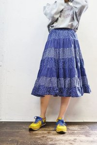 Vintage Skirt 〜コットン×ティアード〜
